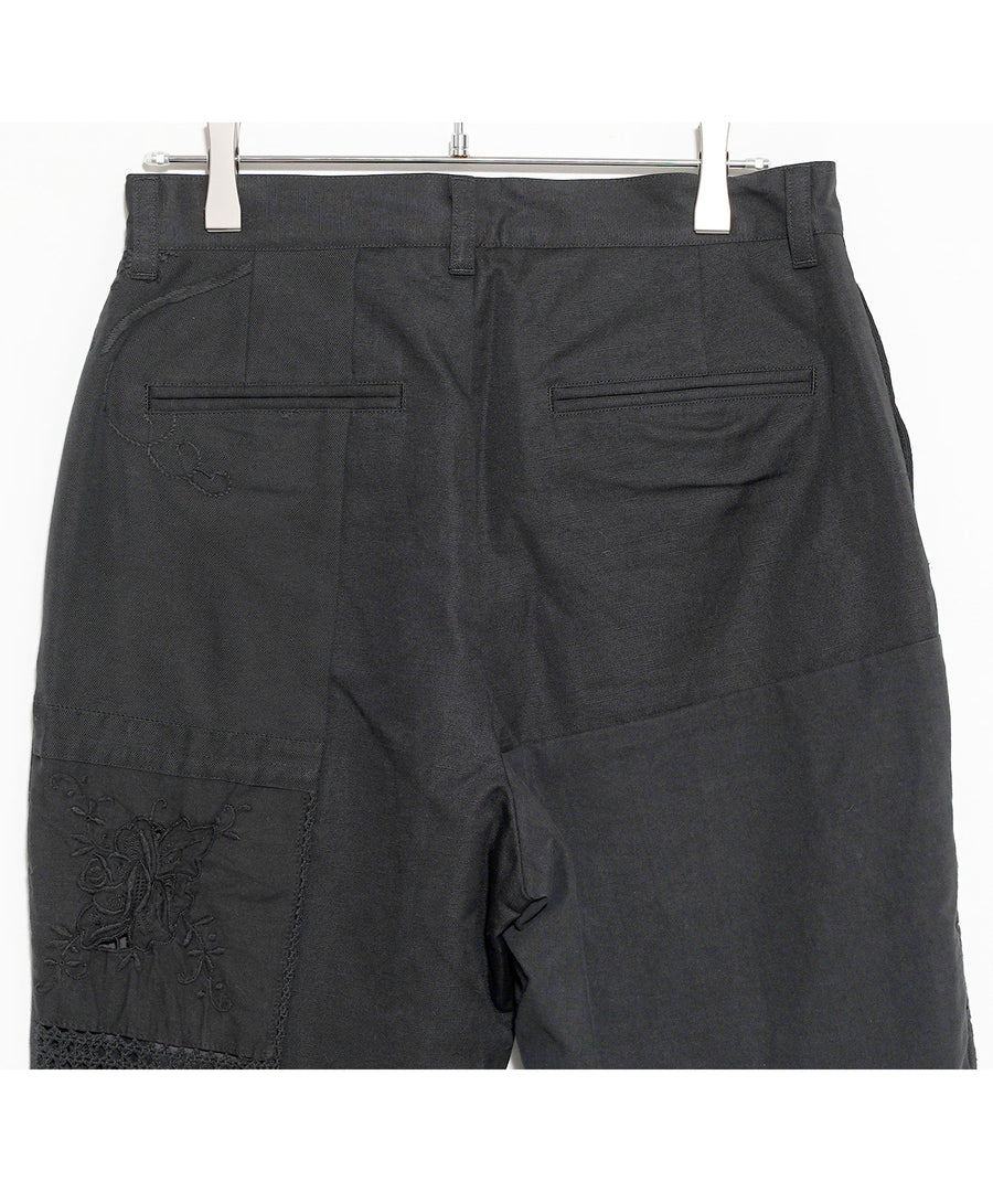 BLK TABLE CLOTH TAPERED PT(standerd)/BLK_001