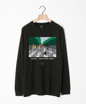 [BANDAID] STOF × Gotch L/S T-SHIRT