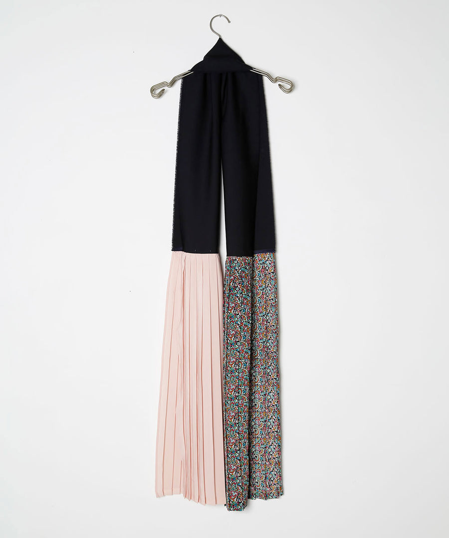 PLEATED STOLE/002