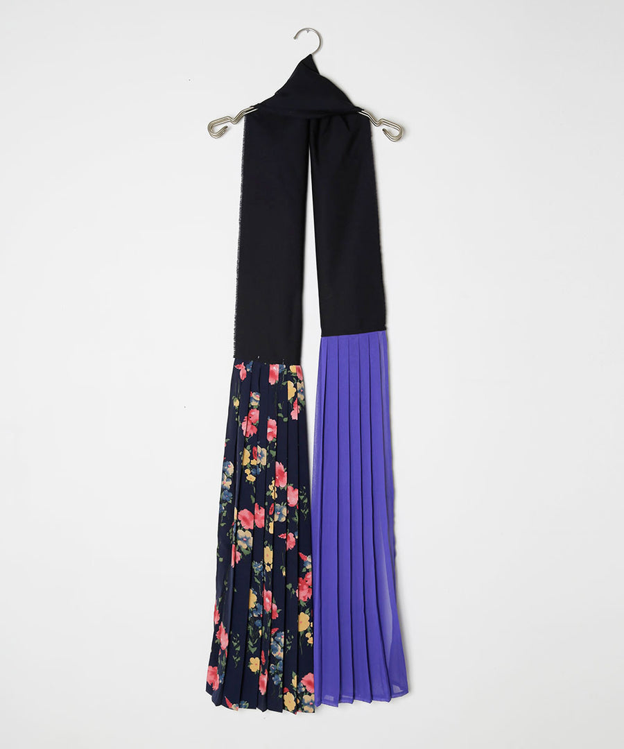PLEATED STOLE/001