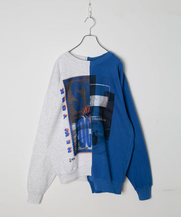 UNION SWEATSHIRTS_PRINT/MIRROR BALL
