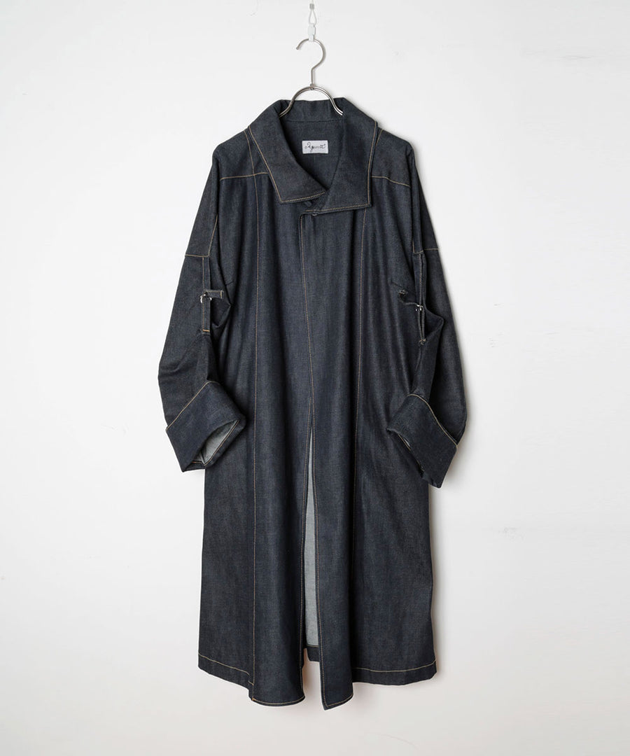 DENIM COAT W74TH
