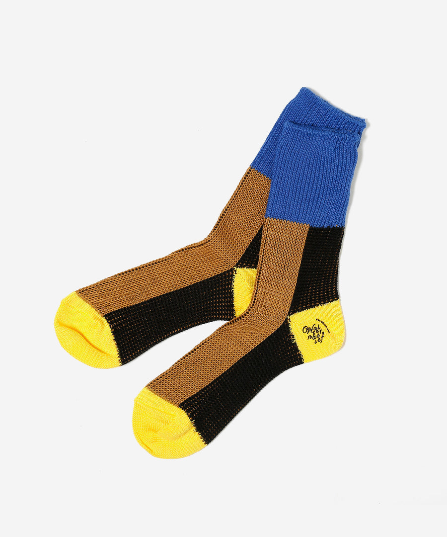 MULCH COLOR RIB SOX