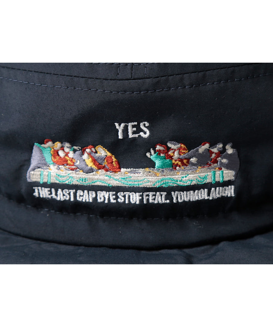 STOF×youmolaugh yes/no hat cap