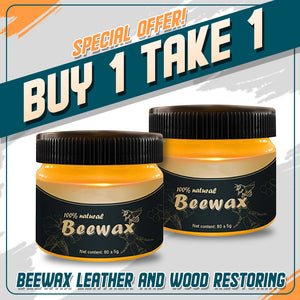 Leather and Wood Restoring Beeswax