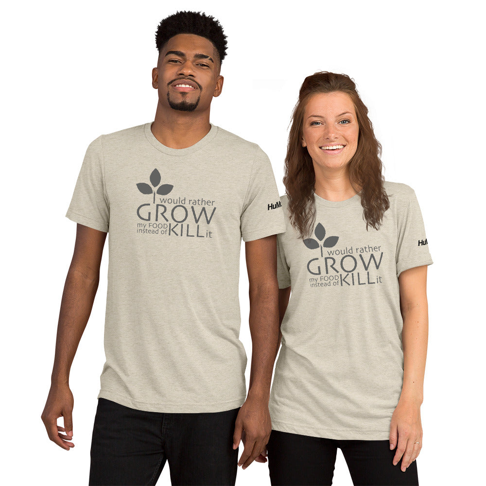 Grow instead of KILL - Short sleeve t-shirt