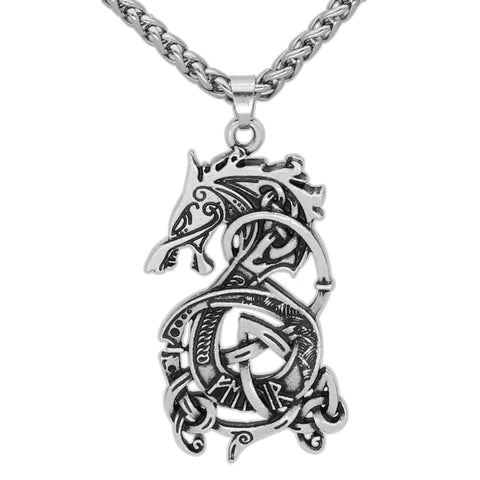 Collier Dragon epoque viking
