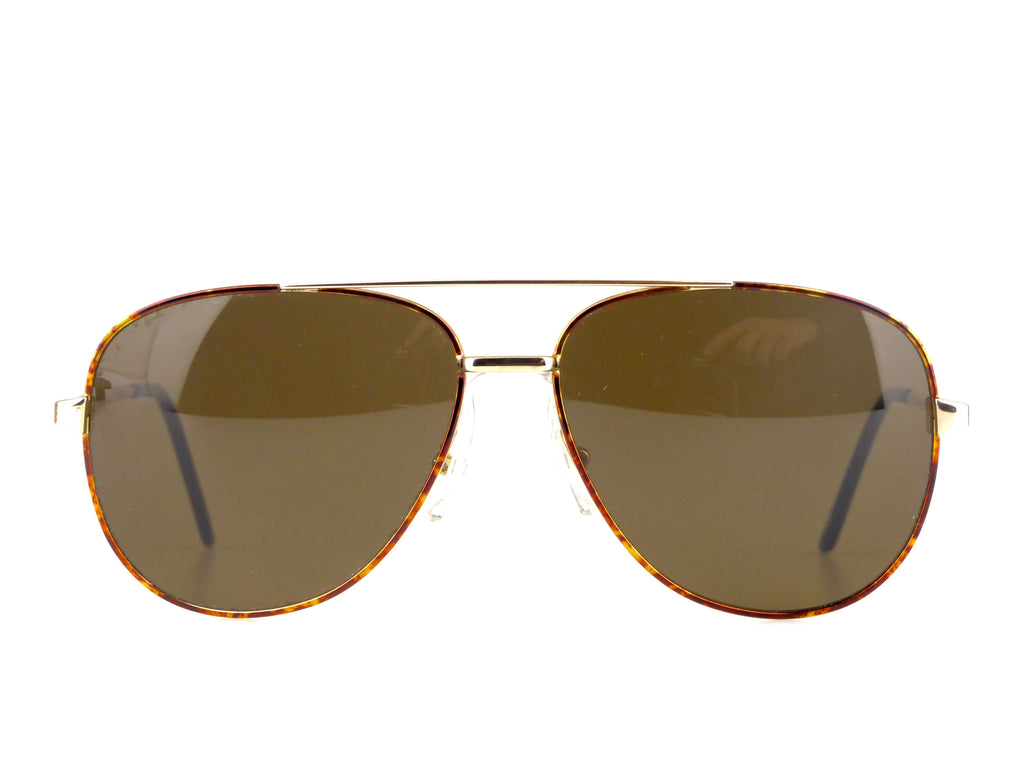 Lunettes vintage pilote wood collection.