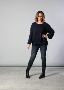 1089 - Jennifer Top - Navy
