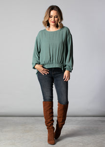1089 - Jennifer Top - Pistachio