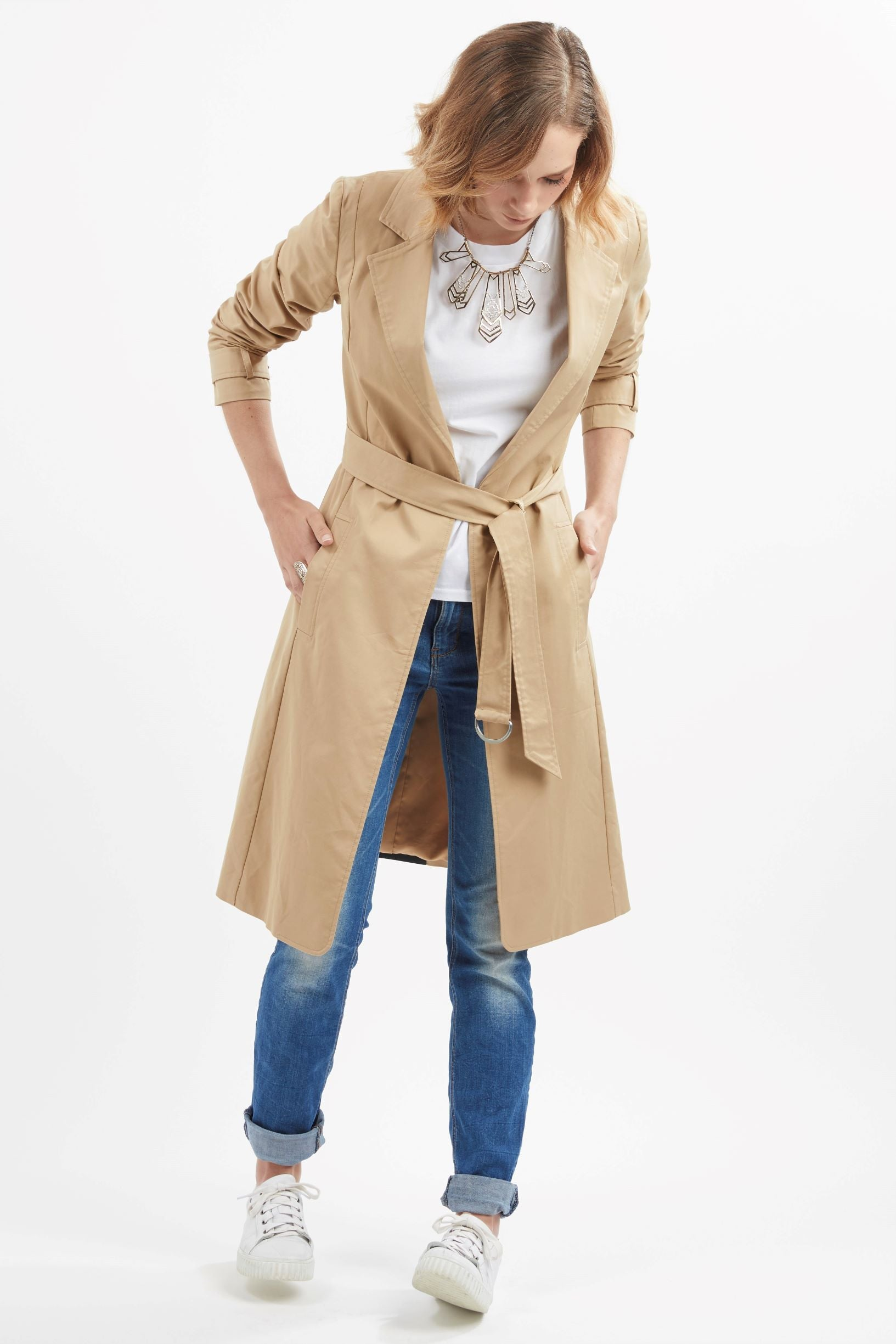 5016 - Marco Trench - Beige