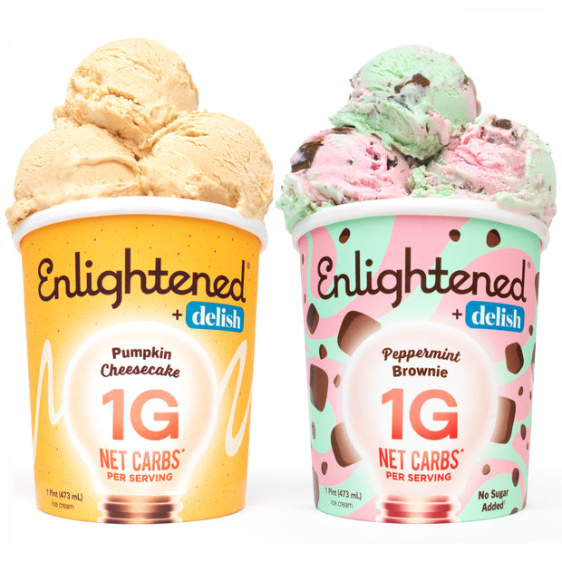 Keto Fall Collection Variety Pack - Enlightened Ice Cream