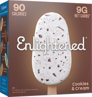 Cookies & Cream Bars - Enlightened Ice Cream