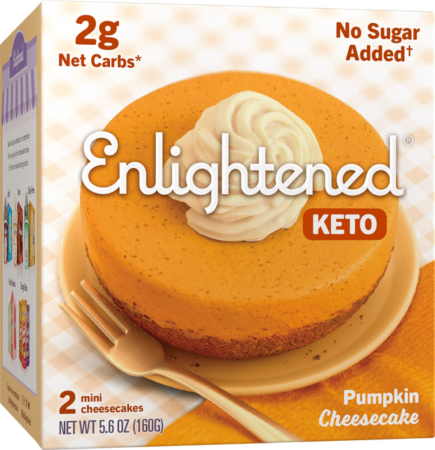 Pumpkin Cheesecake - Enlightened