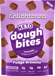 Fudge Brownie Dough Bites - Enlightened