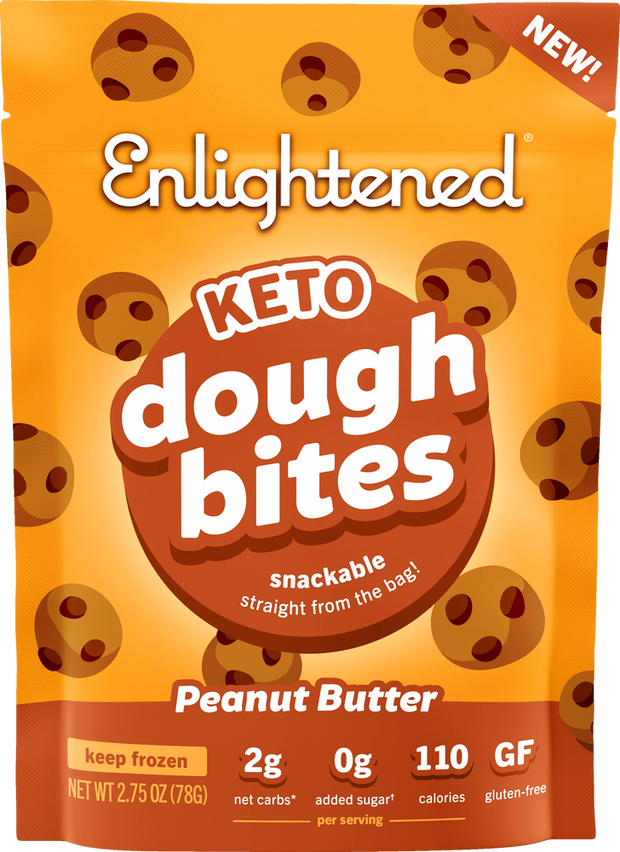 Peanut Butter Cookie Dough Bites - Enlightened