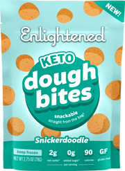 Snickerdoodle Cookie Dough Bites - Enlightened
