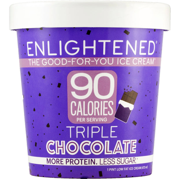 Triple Chocolate Pint - Enlightened Ice Cream