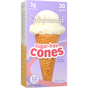 Sugar-Free Cones - Enlightened