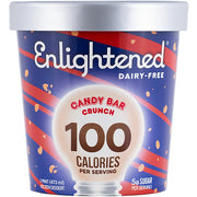Dairy-Free Candy Bar Crunch Pint - Enlightened Ice Cream