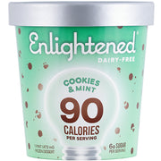 Dairy-Free Cookies & Mint Pint - Enlightened Ice Cream