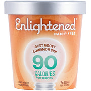 Dairy-Free Ooey Gooey Cinnamon Bun Pint - Enlightened Ice Cream
