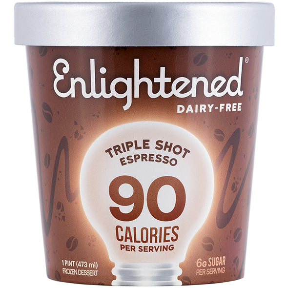 Dairy-Free Triple Shot Espresso Pint - Enlightened Ice Cream