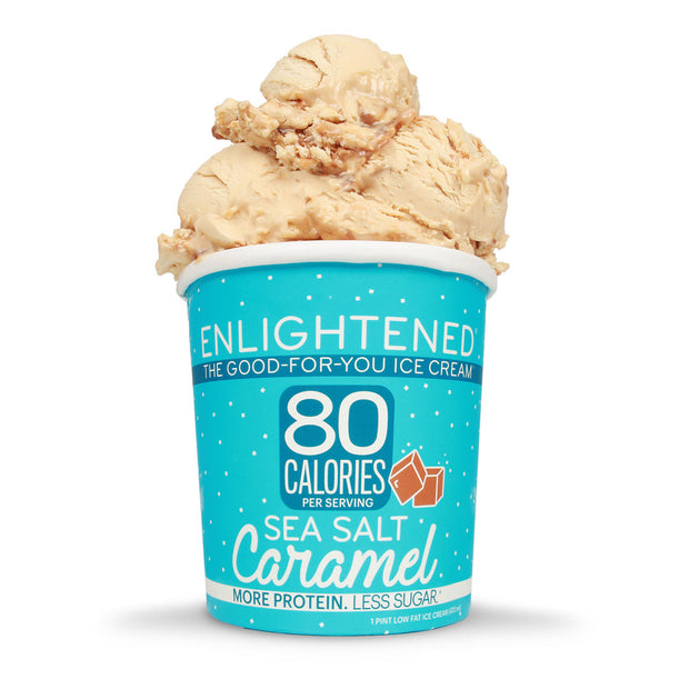 Sea Salt Caramel Pint - Enlightened Ice Cream