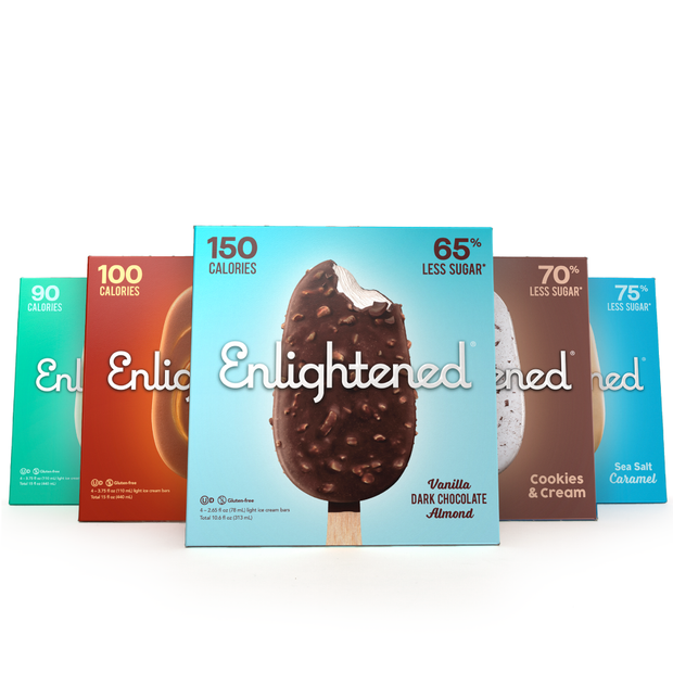 Low-Calorie Bar Variety Pack - Enlightened Ice Cream