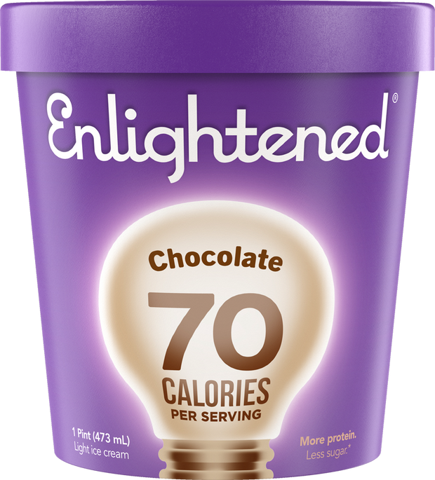 Chocolate Pint - Enlightened Ice Cream