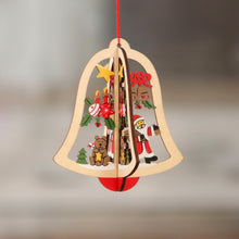 Load image into Gallery viewer, Xmas Wooden Decorations Ornaments