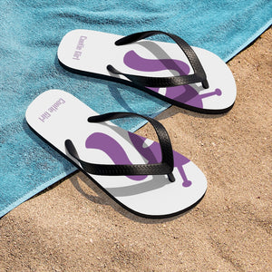 Unisex Flip-Flops - Soft Purple