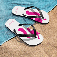 Load image into Gallery viewer, Unisex Flip-Flops - Hot Pink