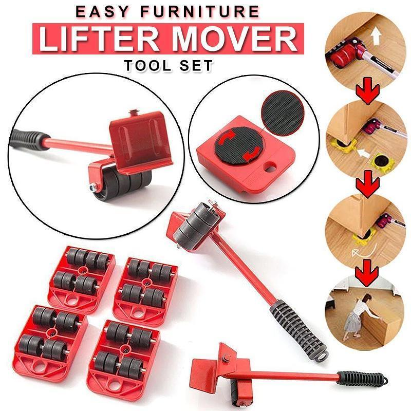 Furniture Lifter Movers Tool Set, 4 Packs