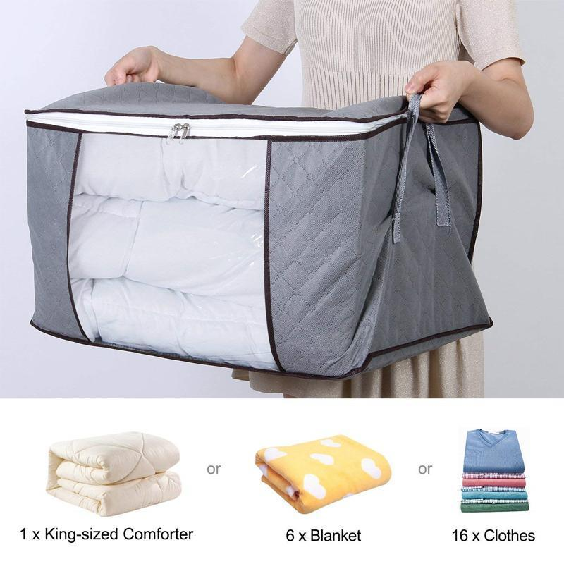 Large Capacity Breathable Clothes Quilt Storage Bag