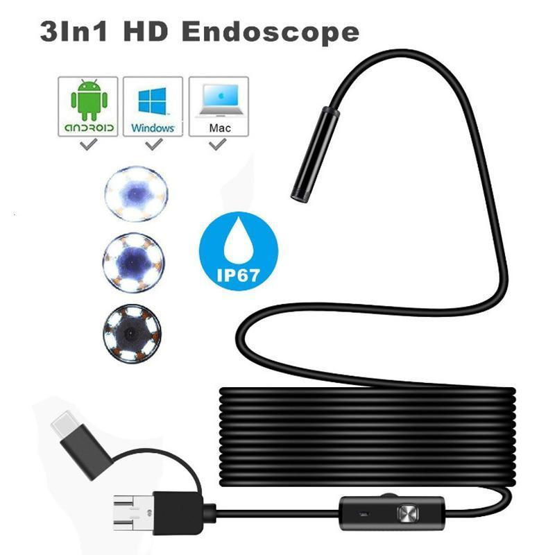 Waterproof Endoscope for Car Inspection & Electronics
