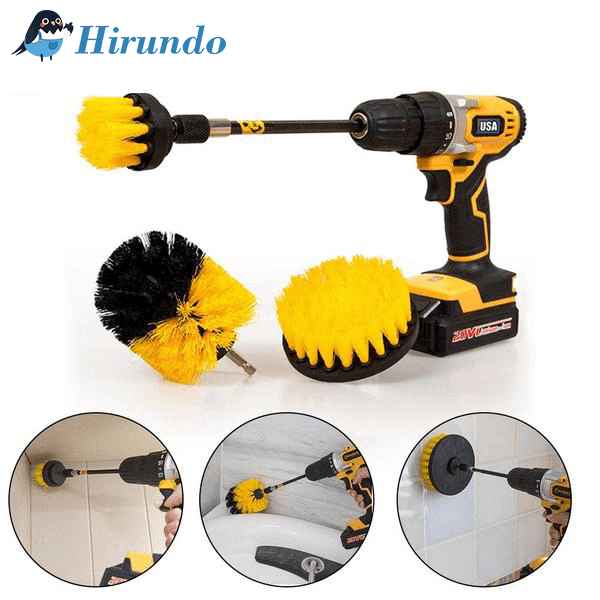 Hirundo® Power Scrubber Brush Cleaner