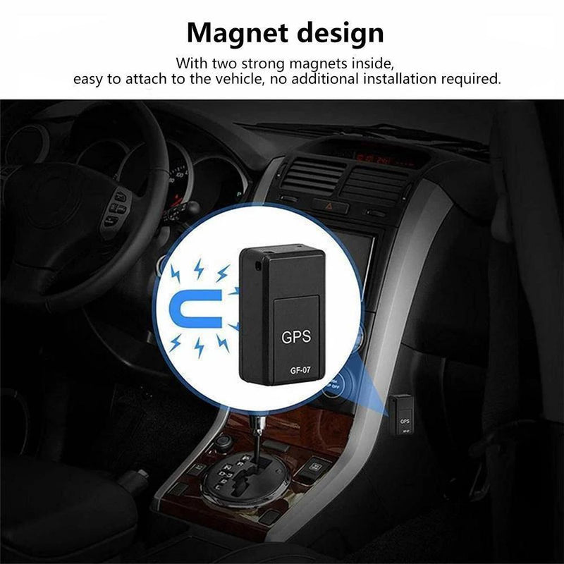 GPS Tracker, Magnetic Mini GPS Locator Anti-theft GPS Tracker