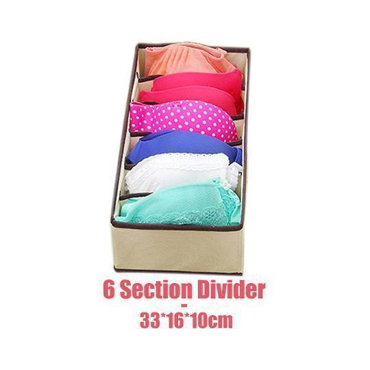 Foldable Closet Underwear Organizer(4 pics/1 Set)