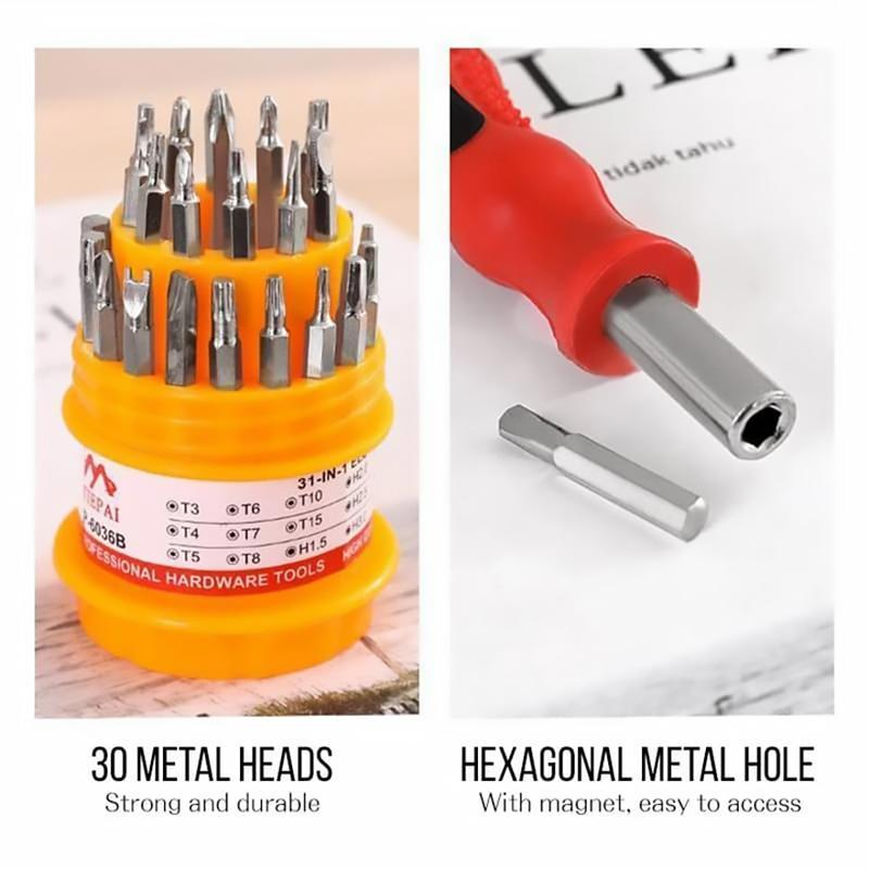 31-in-one Screwdriver Set