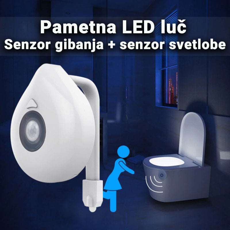 Pametna LED lučka za WC Luminus™