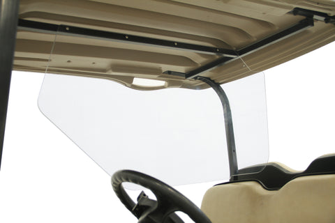 Safe Wedge Protective Partition installed in a E-Z-GO RXV golf cart