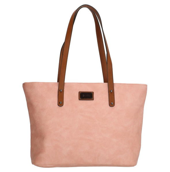 Charm London Covent Garden Ladies PU Shopper Bag - Pink
