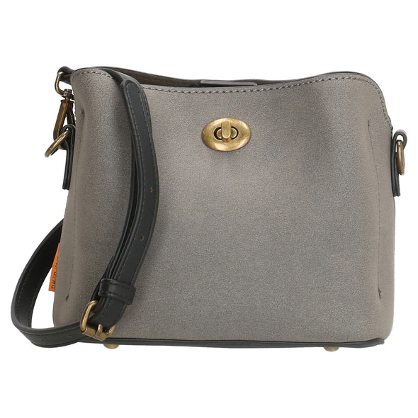 David Jones Paris Ladies Shoulder Bag - GREY CM3970