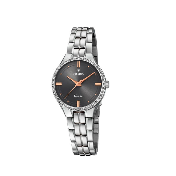 Festina Petite Stainless Steel Analogue Ladies Wrist Watch F20218-2