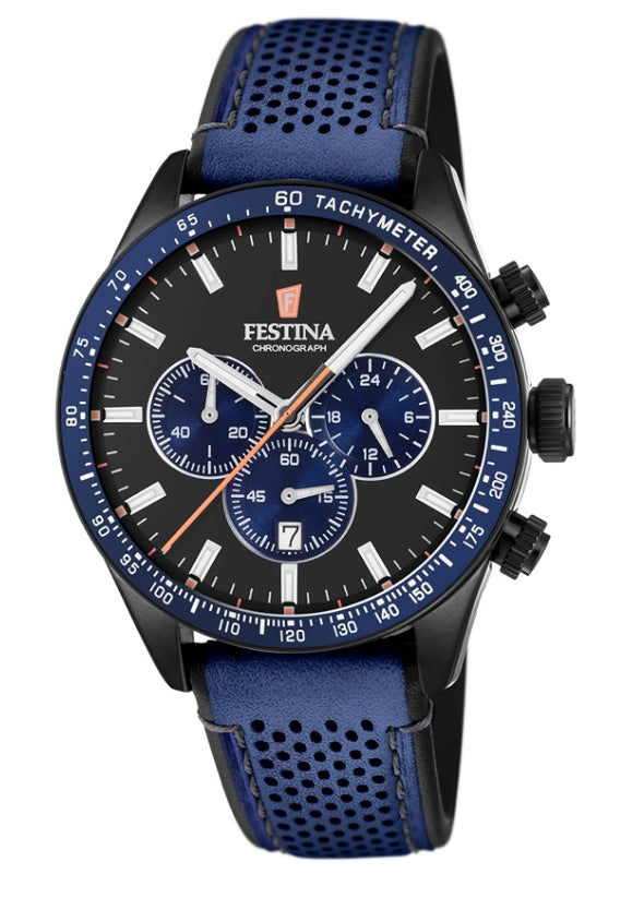 Festina The Originals Analogue Men's Wrist Watch - Blue F20359/2