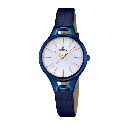 Festina Boyfriend Collection Analogue Ladies Wrist Watch - Blue F16957-1