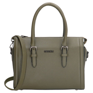 Charm London Birmingham Ladies Hand Bag -Olive 17389