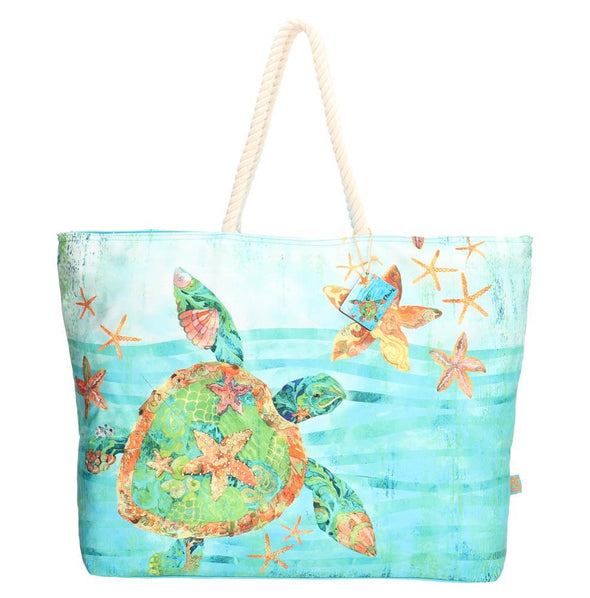 PE-Florence Turtle Sea Ladies Shopper Bag