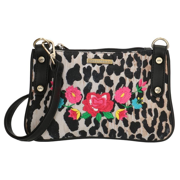 Melli Mello Lorena Leopard Print Ladies Shoulder Bag